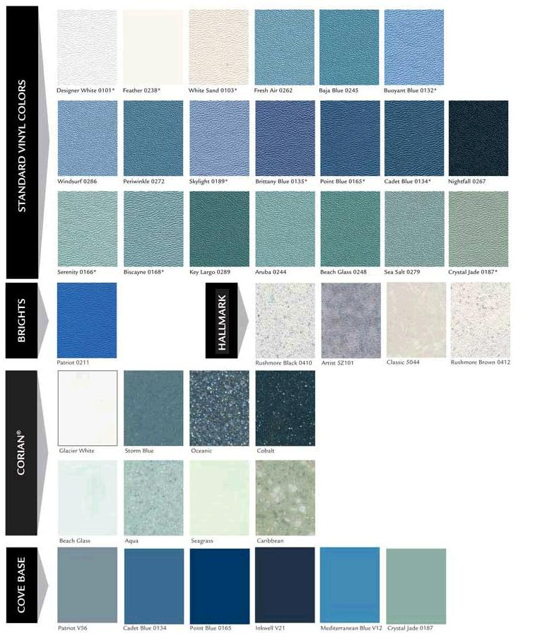 Cape Cod Color Schemes: Aquatic Color Scheme