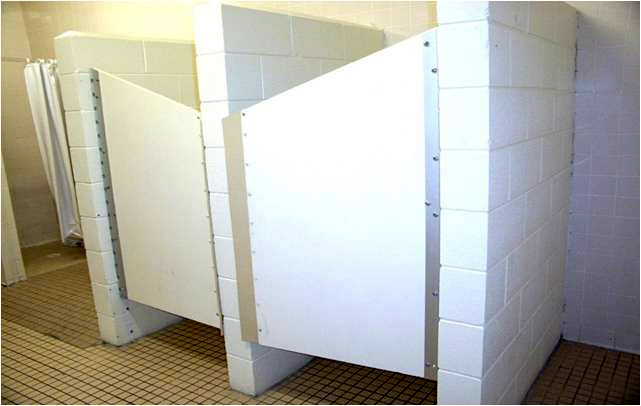Suicide Prevention Shower Door