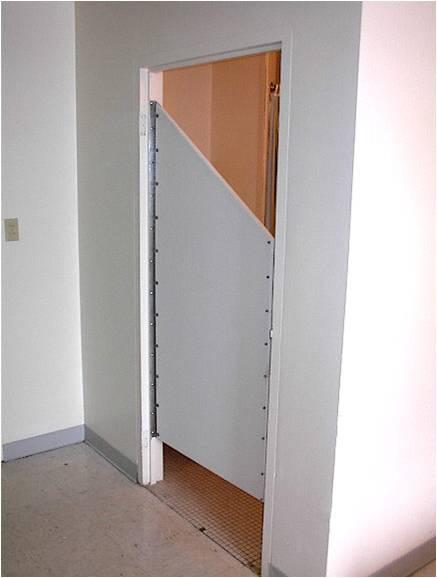 Suicide Prevention Shower Door