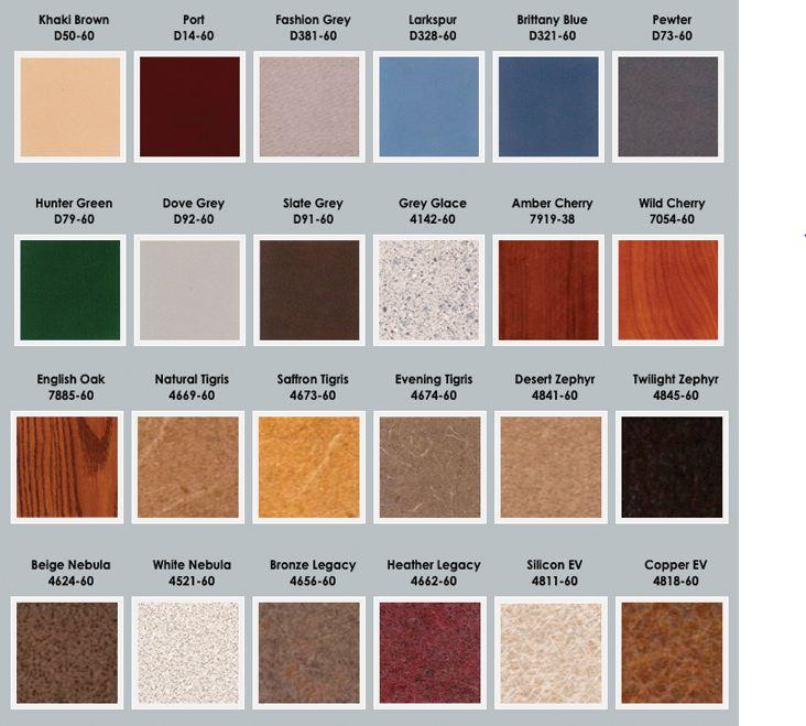 laminate countertops colors